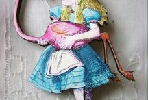 """Alicia en el Pais de las Maravillas / Piezas de Bisutería y Complementos de estilo vintage realizados artesanalmente. Esta coleccion esta basada en el libro """"Alucia en el País de las Maravillas"""""""