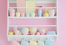 candy color decoração