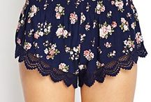 Pyjama Shorts Men & Woman Ideas