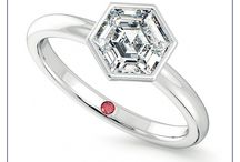 Solitaire Engagement Rings / Timeless and iconic, solitaire engagement rings exude a magical charm, glowing in every type of light and dazzling everyone who glances over; they're the perfect choice for that unforgettable moment between the two of you.