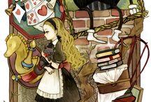 Алиса в стране чудес интерьер