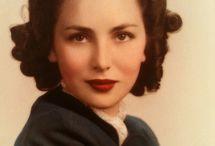 1940s hair makeup