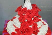 3 tiered Celebration Cakes