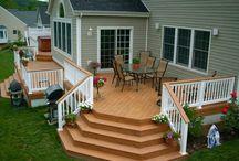 My house - Backyard deck