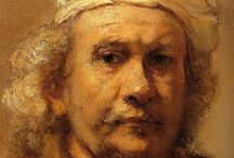 Rembrandt / Rembrandt (1606-1669) was a Dutch painter and etcher. Generally considered one of the most important painters in European history. He had success as a portrait painter since young age, but later life was marked by financial difficulties and personal hardships. His self-portraits form an unique and intimate biography, in which the artist surveyed himself without vanity and with the utmost of sincerity.