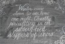 winter / by Annetta Gregory Art