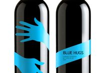 wine design label