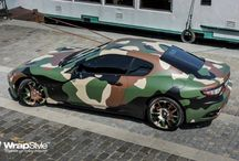 Camo Style Cars ™ / Camo style