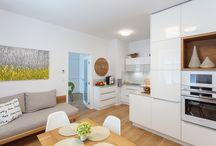 Realizace - Úžasně zařízený byt 1+1 s nábytkem HANÁK na míru
