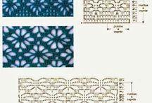 strikke-hækle mønstre