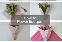 Flowers and wrapping