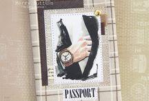 альбомная обложка, паспорт, холдер