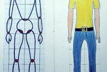 Ihminen, mittasuhteet, muotokuva