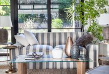 Say it with stripes / Say it with stripes...liven up your living room with a striped couch.