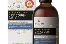 Brauer // Cough & Cold / Soothe a snuffly nose, sore throat and irritating cough with these precious homeopathic flower extracts & Manuka honey.
