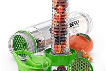 Fruit Infuser Water Bottles / My countdown to the best fruit infuser water bottle available on the market today and one very BIG problem with the best fruit infuser water bottles no one talks about. Follow Pins to read full article OR http://www.mrwatergeek.com/best-fruit-infuser-water-bottle/