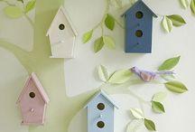 Habitacions i sales / Idees de decoració per espais habitats pels nostres petits monstres