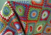Decken / gehäkelt und gestrickt