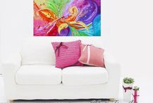 ORIGINALS FOR SALE / ORIGINALS Abstract and Mixed Media Paintings FOR SALE by Fine Artist Julia Apostolova ©JuliaFineArt.