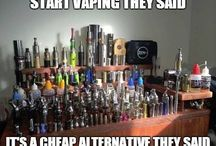Vaping Humour / Life's always brighter when we don't take things too seriously. Vaping can be funny too.