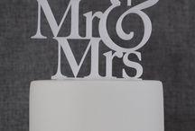 Wedding Cake Topper Idea's