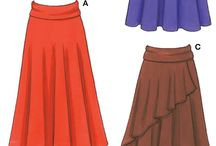 Things to Do or Make: 1. Skirts (B) / Rank B = Nice but not practical for me - i.e. special occasion or would need modification