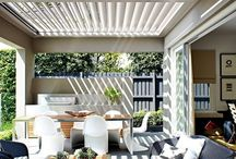 Covered outdoor living space