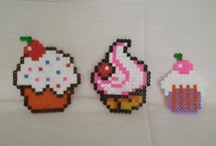 Hama Beads - Cup Cakes