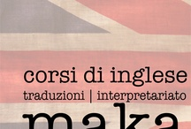 posters / imparare inglese con maka
