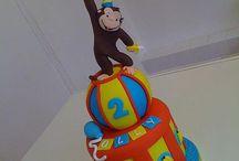 Cakes - Curious George
