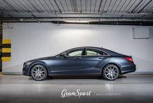 REALIZACJA: MERCEDES CLS C218 Z FELGAMI CARLSSON 1/10 TE. / 20 calowe felgi Carlsson 1/10 Titanium Edition z oponami Pirelli P Zero Nero i niesamowity Mercedes-Benz CLS C218!  O naszym najnowszym projekcie dowiesz się więcej na blogu: http://gransport.pl/blog/realizacja-mercedes-cls-c218-felgi-carlsson-110-titanium