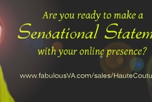 Haute Couture Online Presence / Branding, Marketing and Implementation Services for your Business! http://fabulousva.com/sales/hautecouture/