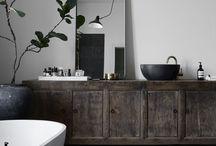 Huset - badrum
