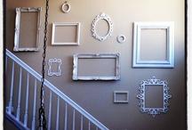 Empty frame décor