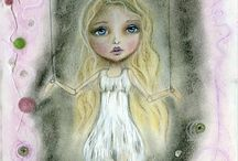mixed media art,drawing,
