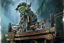 Yoda fishing