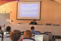 Incontro all'Università di Pollenzo / Corso di laurea in Scienze Gastronomiche, per l'iscrizione nell'Albo.  Pollenzo (CN), 27 Maggio 2009