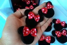 tutorial minie mouse fabric felt