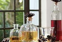 Decanters & Stoppers / All kinds of decanters, serving bottles, wine and liquor stoppers  / by Cynthia Crump