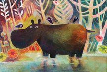 Het is een hippo