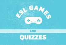 ESL Games and Quizzes / Find online games and quizzes for English language learners.