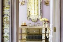 Mirrors and mirrored furniture / Add some glamour to your home decor with mirrored furniture - ideas here: http://mylusciouslife.com/pictures-of-mirrored-furniture-shopping-for-glamorous-decor/