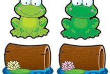 Frog classroom theme