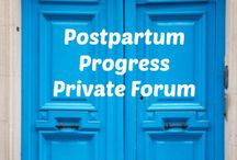 PEP Groups: Postpartum Distress