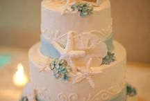 Beach-Themed Wedding Cake Ideas
