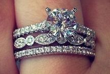 ~Stackable Engagement Rings Inspo~ / If you love dressing up your engagement ring with a fun diamond band or two - this page is for you!