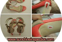 lady-shoes quality inspection
