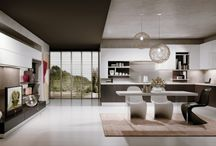 Kuchyňa v obývačke