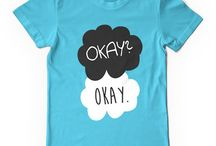 Okay? Okay - The Fault in our stars t-shirts