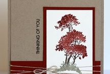 Cards - Serene Silhouettes stamp